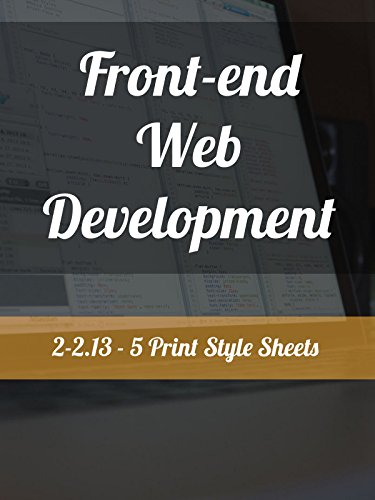 2-2.13 - 5. Print Style Sheets