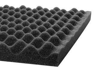"""Acoustic Foam 2-1/2"""" x 24"""" x 18"""" UL 94"""