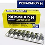 Preparation H Hemorrhoidal Suppositories 56 Count Economy Pack (2 Pack) 112 Count