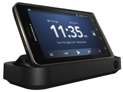 Motorola 89497N Standard Dock with Rapid Wall Charger for DROID BIONIC - Retail Packaging - Black