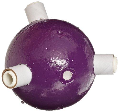 "Molecular Models Purple Polystyrene Trigonal Pyramidal Phosphorus Atom Center, 2"" Diameter"
