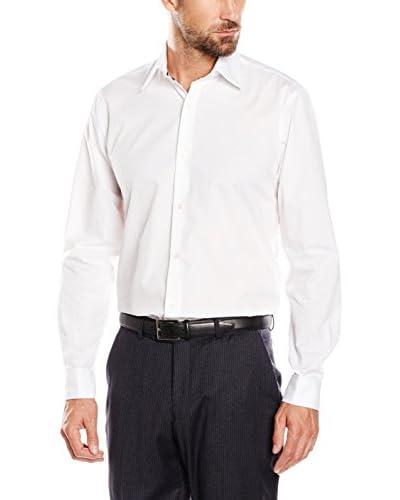 CORTEFIEL Camisa Hombre Popelin T-Spread Gem Blanco