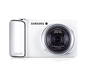 Samsung Galaxy Camera EK-GC100 8GB White, Android OS, v4.1 (Jelly Bean) 3G Unlocked HSDPA 850 / 900 / 1900 / 2100 by Samsung from New Generation Products