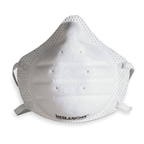 Sperian 14110444 One-Fit N95 Molded Cup Masks, 20/Box by Sperian Protection