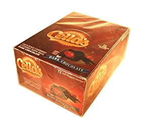 Cellas Dark Chocolate Covered Cherry 72 Count Box