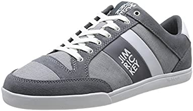 Jim Rickey Carve Lo, Baskets mode homme - Gris (Grey), 41 EU