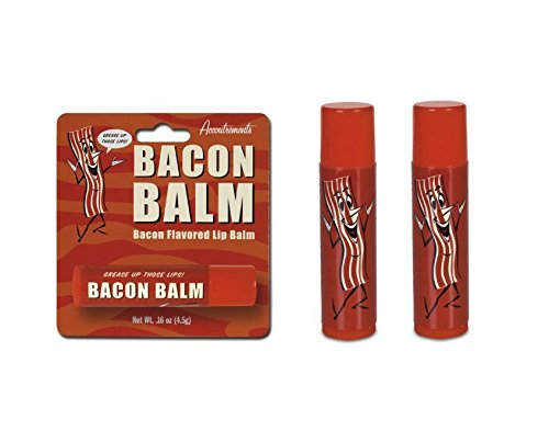 Accoutrements Bacon Lip Balm - 2 Packs - 1