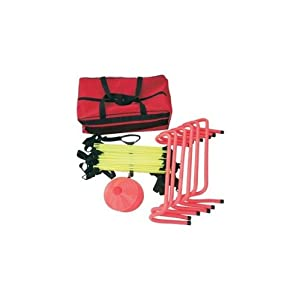 Cintz Agility Training Kit, Speed ladder, Hurdles, Cones, Free Bag
