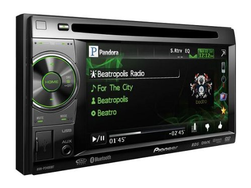 Pioneer Double-Din Bluetooth AV Player with 5.8 inch Screen, iPod/iPhone Control, Front USB and Aux-in