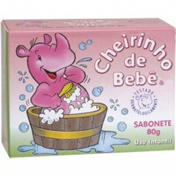 Cheirinho De Bebe - Sabonete 80g - Pink