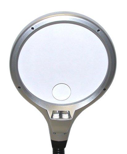 Illuminated Magnifierdesk Glass Art