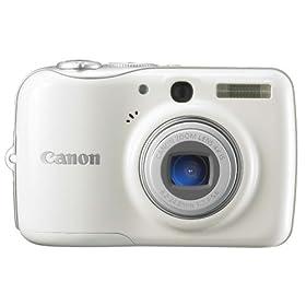 Canon デジタルカメラ PowerShot E1 バニラホワイト PSE1(WH)