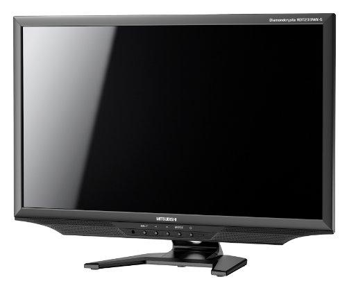 MITSUBISHI 23型ワイド液晶ディスプレイ グレア IPSパネル採用 ブラック RDT233WX-S(BK)