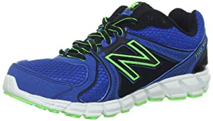 New Balance KJ750 Y Running Shoe (Little Kid/Big Kid),Blue/Black,4 M US Big Kid