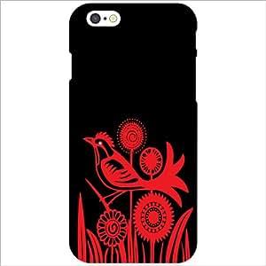 Apple iPhone 6S Back Cover - Red & Black Designer Cases