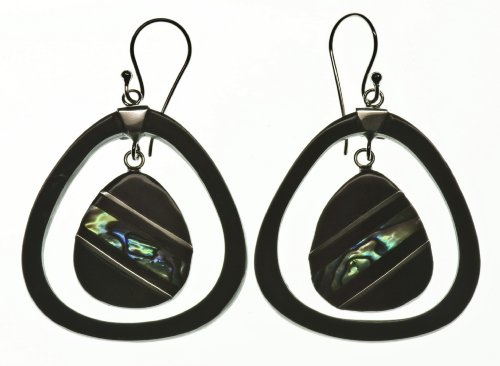 Saturn Earring Organic Jewelry of Bali