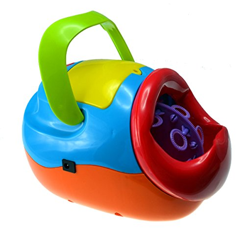 battery powered bubble machine