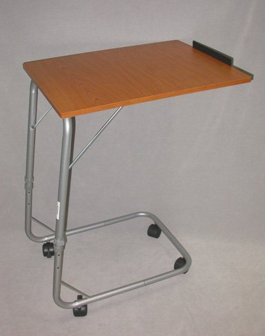 Cantilever Over Bed or chair Table Adjustable Height Tilt Top Mobility Aid without wheels