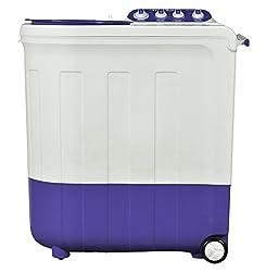 Whirlpool Ace 8.5 Turbodry Semi-automatic Top-loading Washing Machine (8.5 Kg, Floral Purple)