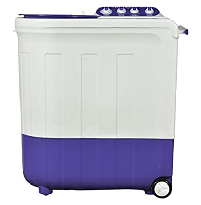 Whirlpool Ace 8.5 Turbodry Semi-automatic Top-loading Washing Machine (8.5 Kg, Floral Purple)