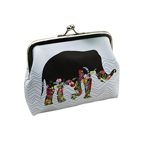 Wallet,toraway Vintage Womens Elephant Wallet Card Holder Coin Purse Clutch Handbag (Vintage Coin Purse compare prices)