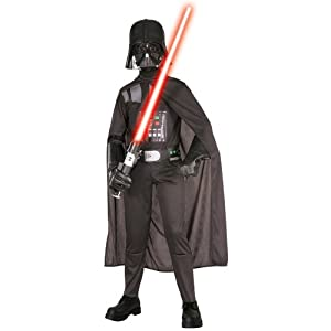 Classic Darth Vader Costume: Boy's Size 4-6 from Rubies