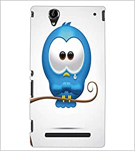 SONY XPERIA T2 ULTRA BLUE BIRD Designer Back Cover Case By PRINTSWAG