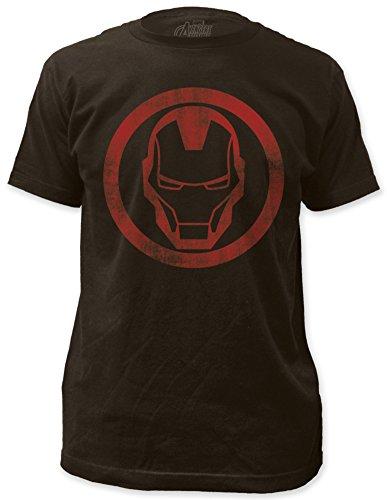 Iron Man - distressed icon T-Shirt Size M