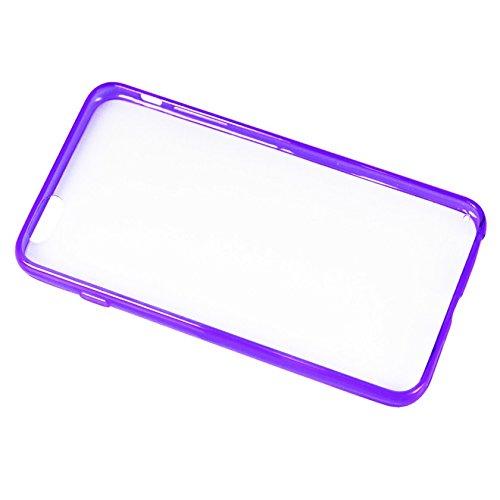 Reiko Dual Color Jelly Case for iPhone 6 Plus - Retail Packaging чехол накладка для iphone 6 ozaki o coat 0 3 jelly oc555tr пластик прозрачный