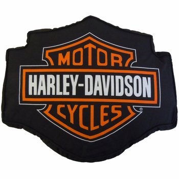 Harley Davidson Fireball Pillow 14 x 12