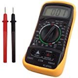Amdai Volt Testing Digital Multimeter Voltmeter Ammeter AC DC Meter OHM for DIY