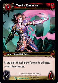 Trytha Darksun - March of the Legion - Uncommon [Toy]
