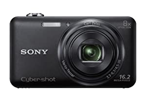 Sony DSC-WX80/B 16 MP Digital Camera with 2.7-Inch LCD (Black)