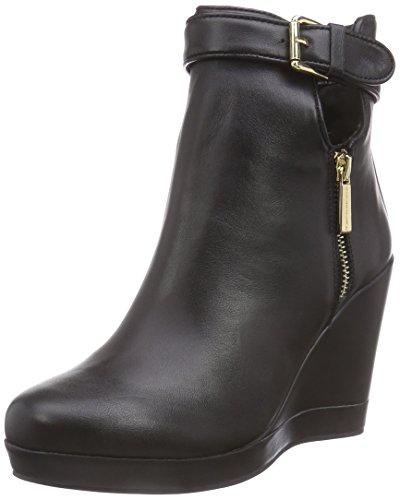 Fornarina PIFTB8996WCA - Scarpe con zeppa donna, colore nero ( black 00 ), taglia 41