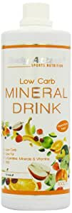 Body Attack Woodruff 1000ml Low Carb Mineral-Drink