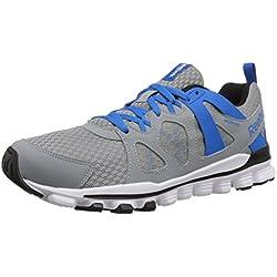 Reebok Men's Hexaffect Run 2.0 MT Running Shoe - Grey/Blue/White/Black