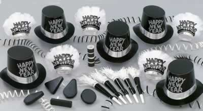 Tuxedo-Nite New Year's Eve Party Assortment for 10