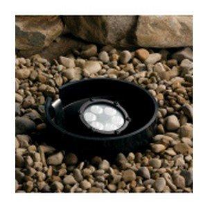 Kichler Lighting 15728Bkt Design Pro 8.5-Watt 10-Degree Spot Led Well Light, Textured Black Finish
