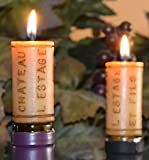 Wine Cork Candles -Set of 4