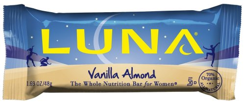 Luna Nutrition Bars, Vanilla Almond, 1.69-Ounce Bars (Pack of 15)