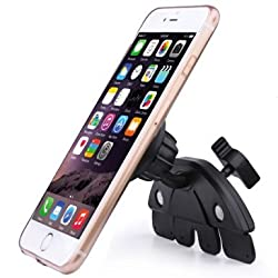 Esonstyle Universal Adjustable CD Player Slot Magnetic Mobile Phone Car Mount Holder With 360 Rotating Magnet Stand Bracket for iPhone 6 6+ 5S, 5C, 5, 4S, 4, iPod touch, Samsung Galaxy S6, S5, S4, Note 3, Nokia Lumia 920, LG
