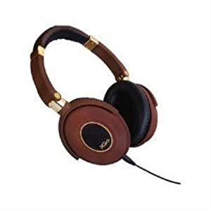 iGo City Active Noise Cancelling Headphones with In-Line Microphone - Brown/Gold
