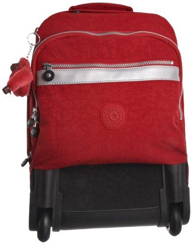 Kipling Women's New Runner Wheeled Backpack Red K13875100