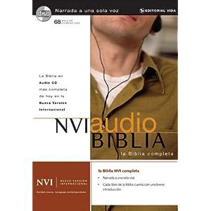 NVI Audio Biblia (Spanish Version of NIV) (Spanish Edition) Rafael Cruz