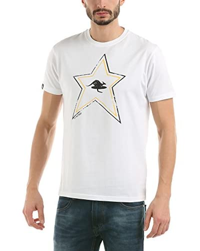 Hot Buttered T-Shirt Manica Corta Bigstar [Bianco]