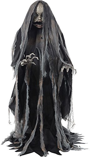 Creeper Rising Animated Halloween Prop Scary Haunted House Yard Scary Decor by Mario Chiodo