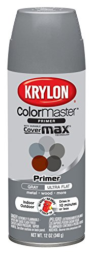 Krylon 51318 All-Purpose Gray Interior and Exterior Decorator Primer - 12 oz. Aerosol (Interior Spray Paint compare prices)