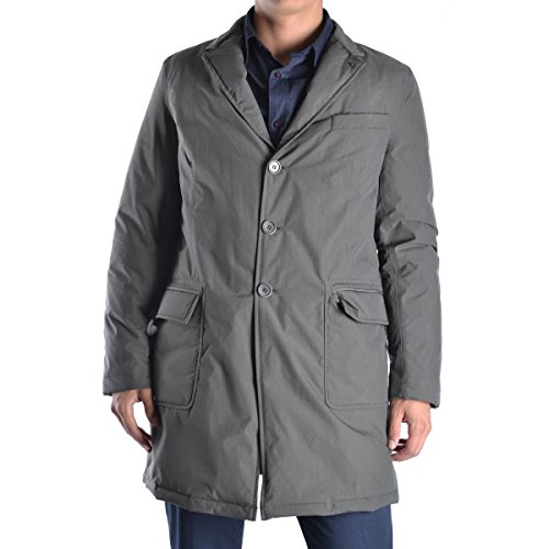 Cappotto coat an1805 Aspesi Uomo M Verde