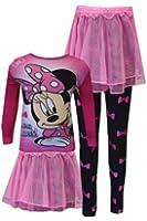 WebUndies Girls Disney Minnie Mouse How Pajama with Tutu