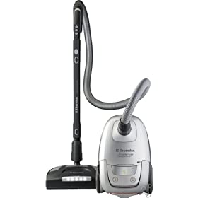 Electrolux UltraSilencer EL7060A Canister Vacuum Cleaner with 12 Amps Power, DeepClean Power Head, Sealed HEPA Filtration, Advance Electronics and Retractable Cord